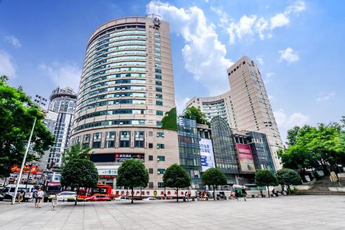 . Yishang Hotel (Chongqing Jiefangbei Hongyadong)
