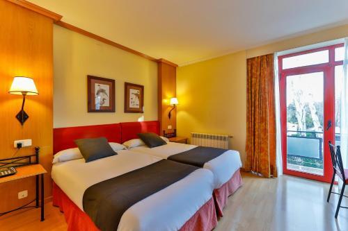 Hotel-overnachting met je hond in Hotel El Cruce - Manzanares