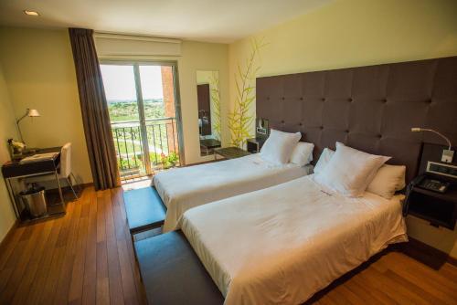 Standard Doppel- oder Zweibettzimmer Hotel Eguren Ugarte 6