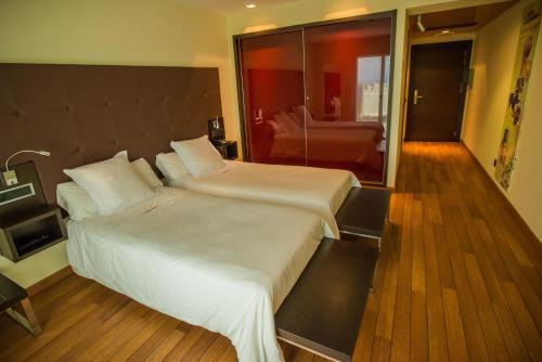 Standard Doppel- oder Zweibettzimmer Hotel Eguren Ugarte 8