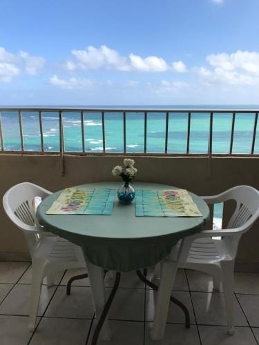 . Ocean Front Apartment