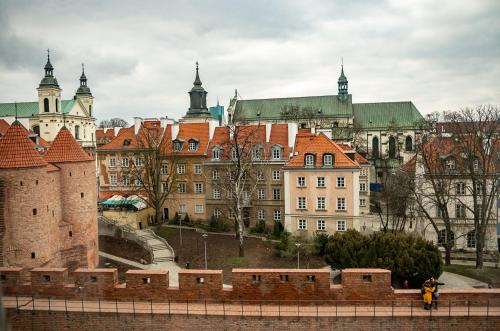 Charming View Old Town, Warsaw