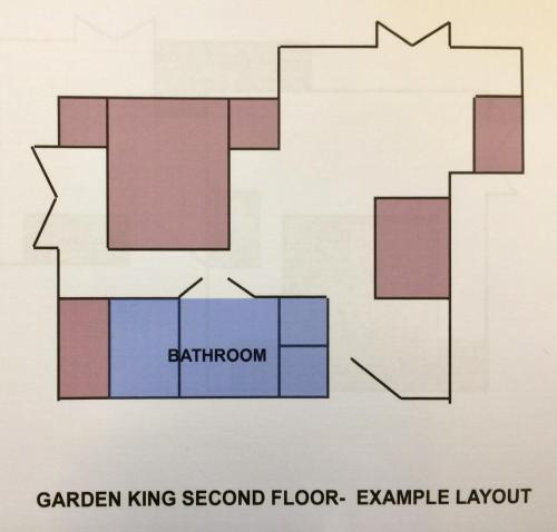 Large King Room with Garden View