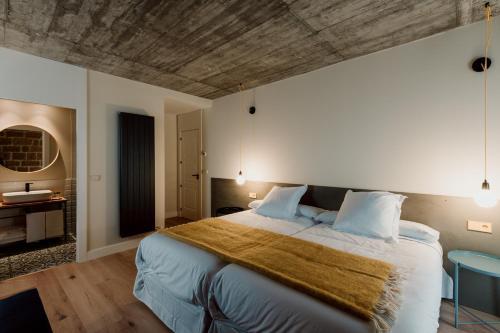 Double Room with Private Bathroom Palacio Condes de Cirac 3