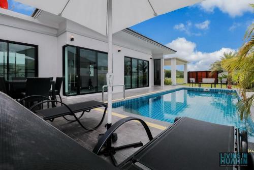 Modern Pool Villa Pak Nam Pran Modern Pool Villa Pak Nam Pran