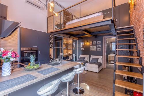 . Studio apartment Atelier