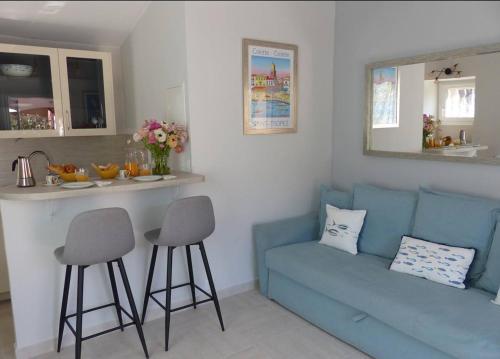 Charmante petite maison a l'éntrée de Saint Tropez - Location saisonnière - Saint-Tropez