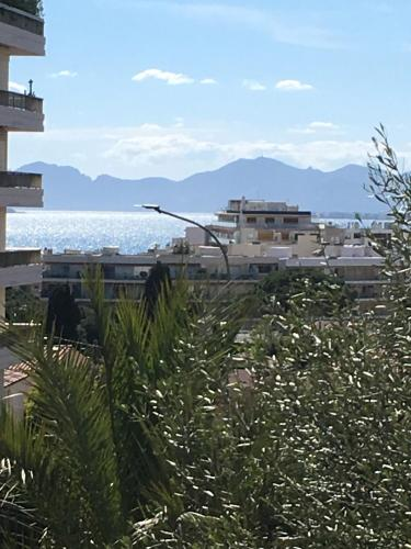 charming sea view 3 rooms pool residence Mas de Tanit CORINTHE 1e