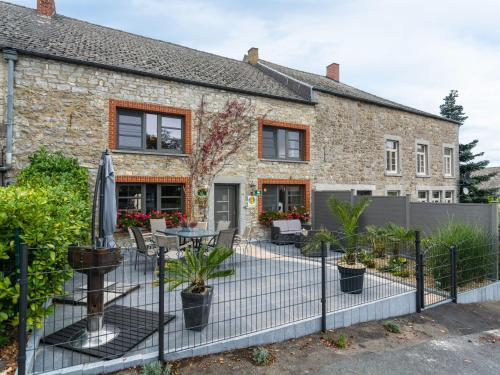 . Spacious Holiday Home with Fireplace in Doische Belgium