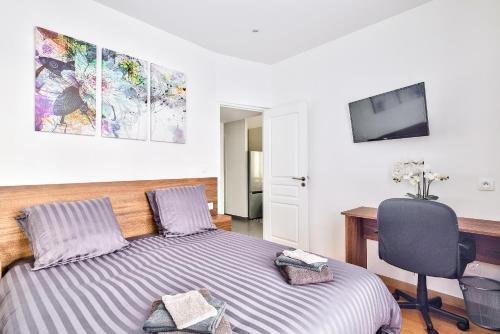The Pearl Suite - Location saisonnière - Vitry-sur-Seine