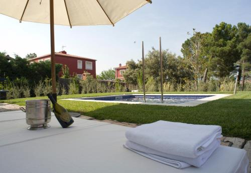 Suite deluxe with private pool  Hotel Boutique Pinar 37