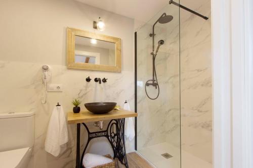 Habitación Doble Deluxe con bañera El Mirador de Eloísa 6