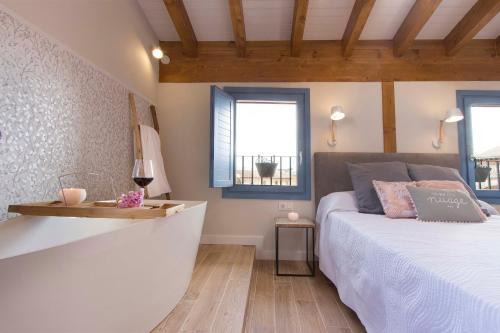 Habitación Doble Deluxe con bañera El Mirador de Eloísa 2