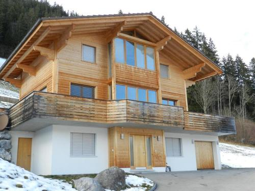 Gletscherblick, Chalet - Apartment - Zweisimmen