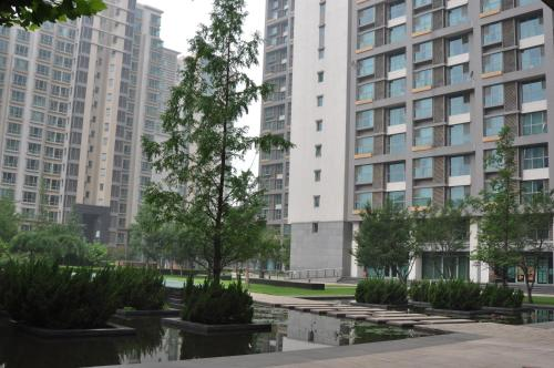 Beijing New Oriental Suites in Seasons Park Sanlitun photo 35