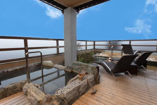 Premium Suite with Tatami Area with Open-Air Bath and Private Pool - Summer Season Only