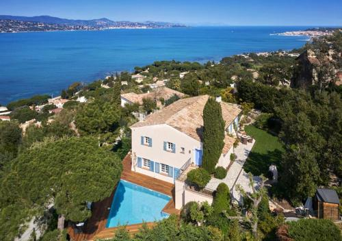OZONE SANITIZE D - Villa with Magic view of Bay of Saint Tropez - Location, gîte - Saint-Tropez