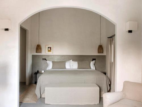 Habitación Deluxe con cama extragrande Finca Serena 4