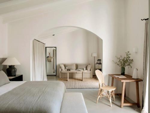 Suite con vistas al jardín Finca Serena 2