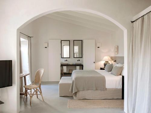 Suite con vistas al jardín Finca Serena 1