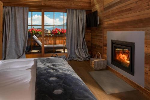 Hostellerie du Pas de l'Ours Relais et Chateaux - Hotel - Crans-Montana