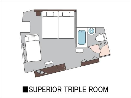 Superior Triple Room - Non-Smoking