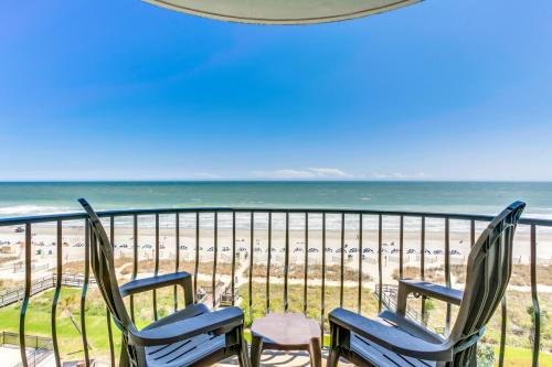 . Oceanfront 3 BDR Condo with 2 Beach Front Terraces