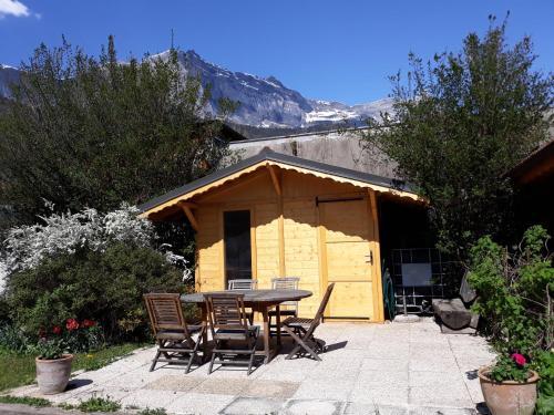 Appartement en rez de jardin à la montagne - Apartment - Passy Plaine Joux