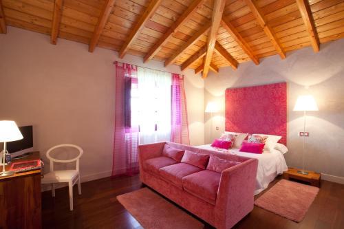 Comfort Doppelzimmer - Einzelnutzung Casa Rural Etxegorri 35