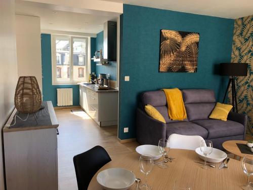 Appartement lumineux au Plat Gousset - Location saisonnière - Granville