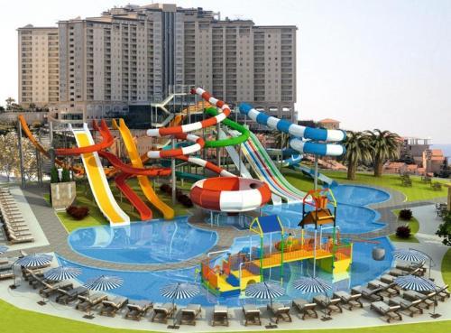 ALANYA GOLD CİTY - Apartment - Alanya