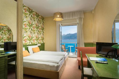 Quarto Duplo ou Twin com Varanda e Vista Lago (Double or Twin Room with Balcony and Lake View)