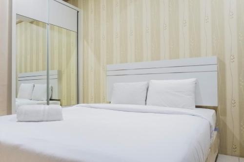 . Minimalist Studio Apartment at Pavilion Permata By Travelio