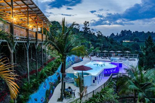 . Hotel Santa Maria de las Aguas Peñol