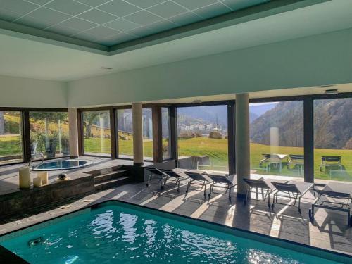 Habitación Doble Superior con acceso al spa Hotel Rural-Spa Resguard Dels Vents 10
