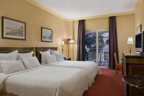 Two Queen Hilton Guest Room