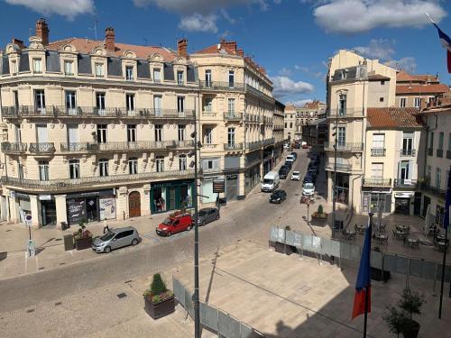 Magnifique appartement Beziers Centre Historique avec parking - Location saisonnière - Béziers