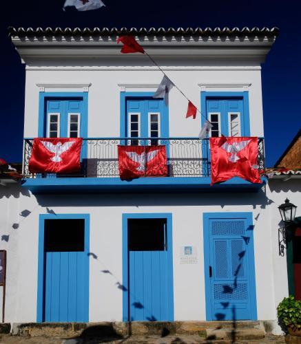 Casa Turquesa, Rua Doutor Pereira, 50 Centro Histórico, Paraty, Rio de Janeiro, Brazil.