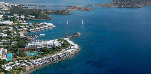 Wellness Island-suite med udsigt til vandet ( Wellness Waterfront Island Suite)