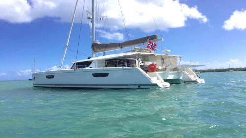 Saba 50 Crewed Catamaran