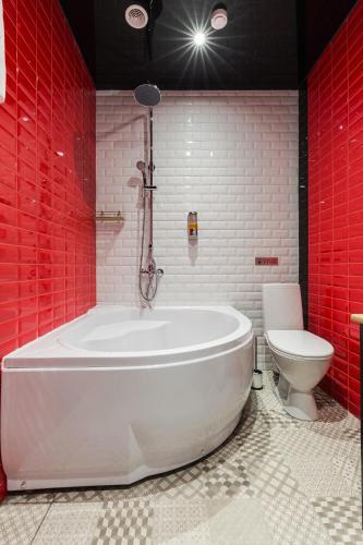 Отель Демут Двухместный номер Делюкс с 1 кроватью и ванной