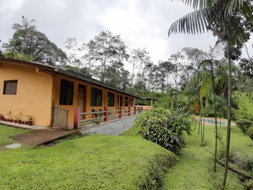 . Mindo Loma bird lodge