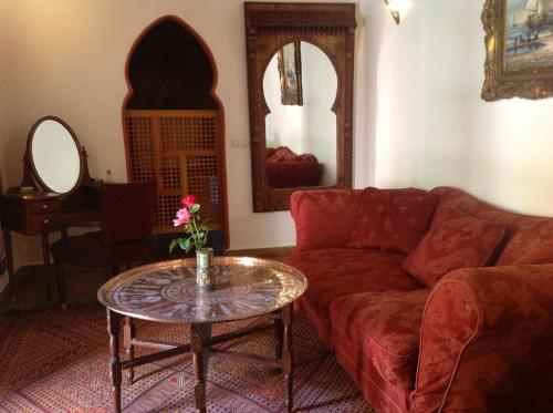 Riad Timadrouine zdjęcia pokoju