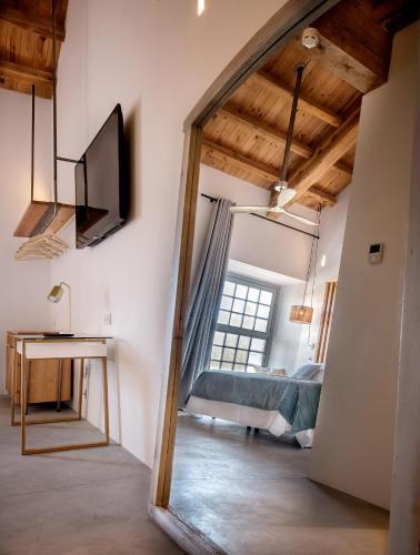 Doppel-/Zweibettzimmer - barrierefrei - Einzelnutzung La Fábrica del Canal 3