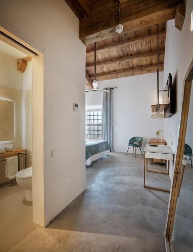 Doppel-/Zweibettzimmer - barrierefrei - Einzelnutzung La Fábrica del Canal 2