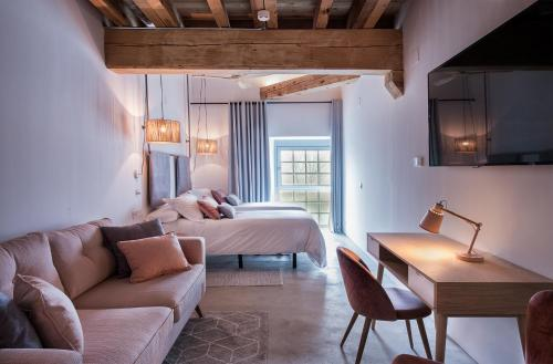 Deluxe Doppel-/Zweibettzimmer - Einzelnutzung La Fábrica del Canal 4