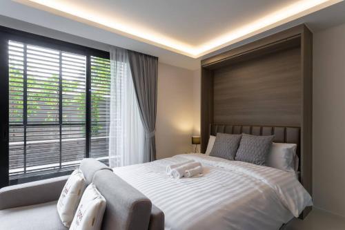Circle Rein 88/08+Bangkok-Asok+2double beds+52m2+4max Circle Rein 88/08+Bangkok-Asok+2double beds+52m2+4max