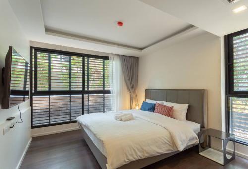 Circle Rein 88/10+Bangkok-Asok+3double beds+80m2+6max Circle Rein 88/10+Bangkok-Asok+3double beds+80m2+6max