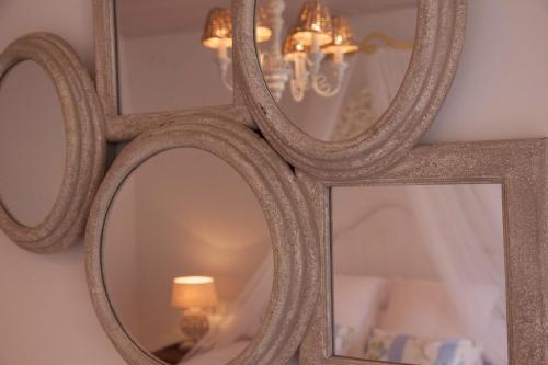 Habitación Doble Deluxe con terraza Es Cel de Begur Hotel 12