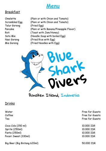 Blue Shark Divers Bunaken, Minahasa Utara
